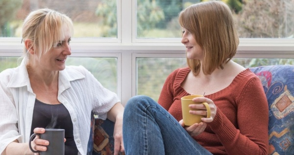 Women spending time in their conservatory 2