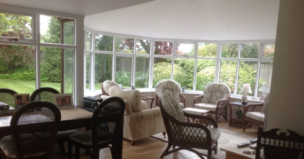 inside conservatory with converted conservatory roof by Projects 4 Roofing 2