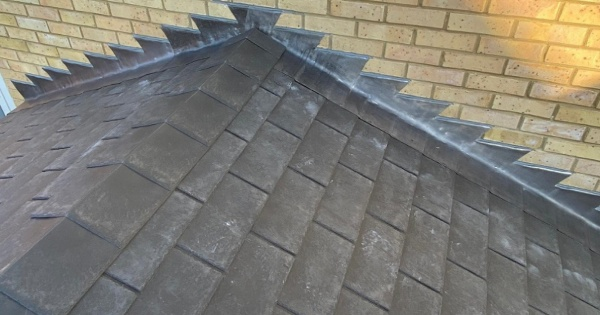Black conservatory roofing tiles 2