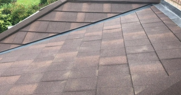 conservatory roof tiles installed on a guardian warm roof 2
