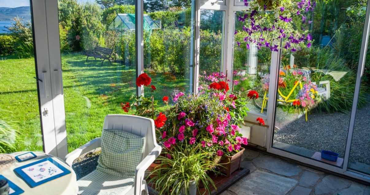 Choosing between a conservatory or an extension depends on how connected you want to be to the outside