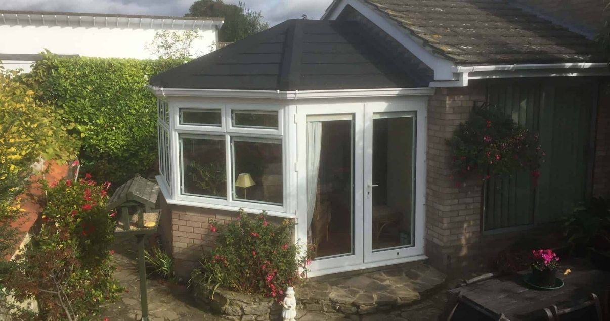 A succesful conservatory roof conversion