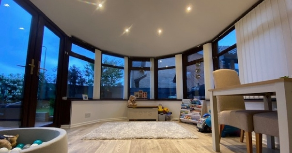 P4R converted playroom conservatory.