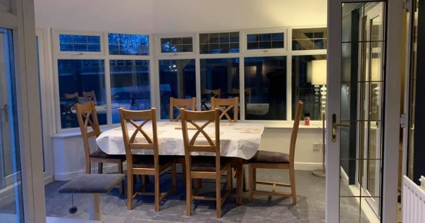 Transform your conservatory and have your family hang out in an insulated conservatory during summer.