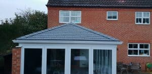 Solid Conservatory Roof in Royston
