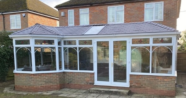 solstice skylight conservatory upgrade from the outside of a converted conservatory
