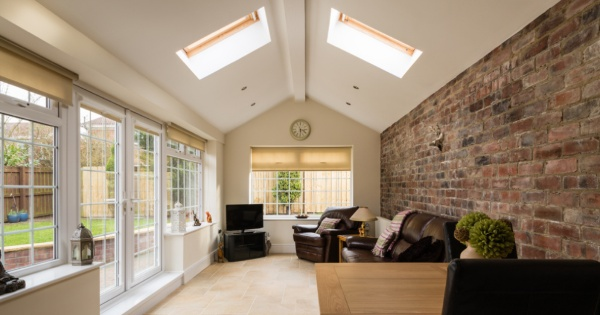 inside a converted conservatory completed by a reputable conservatory roofing installer