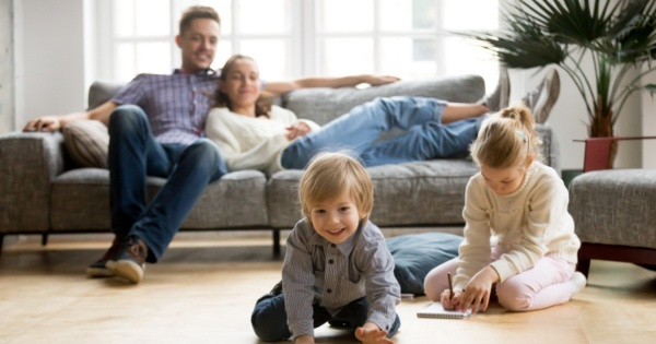 A conservatory living room can be a great place to spend time with your kids
