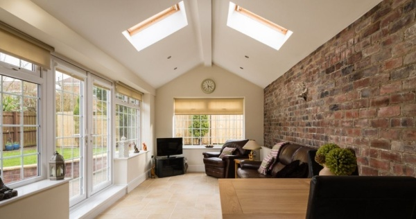 Your conservatory can be used as a living room