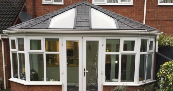 Mrs Perry chose a local conservatory roofing installer