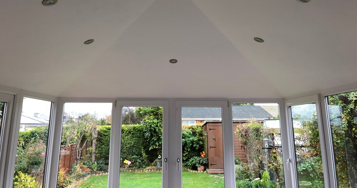 conservatory room from the inside with converted conservatory roof by Projects 4 Roofing
