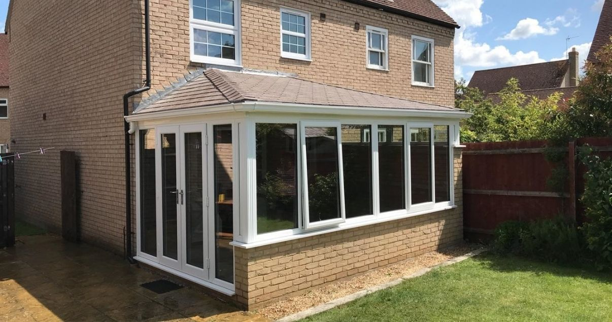 successful guardian warm roof installation provides great conservatory insulation