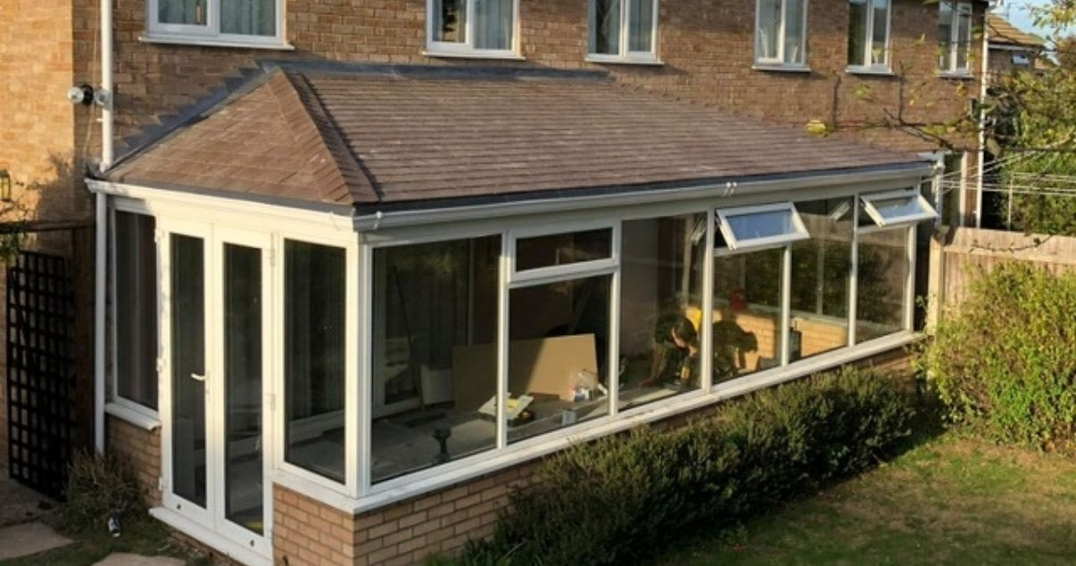 A successful conservatory roof conversion by Projects 4 Roofing
