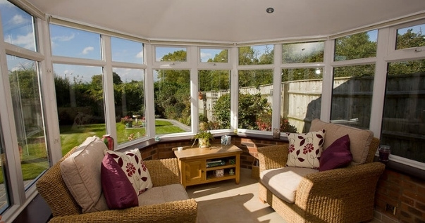 P4R finished product of a converted conservatory with a Guardian Warm Roof.