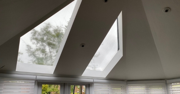 Add value to your conservatory by including windows in your conservatory roof.